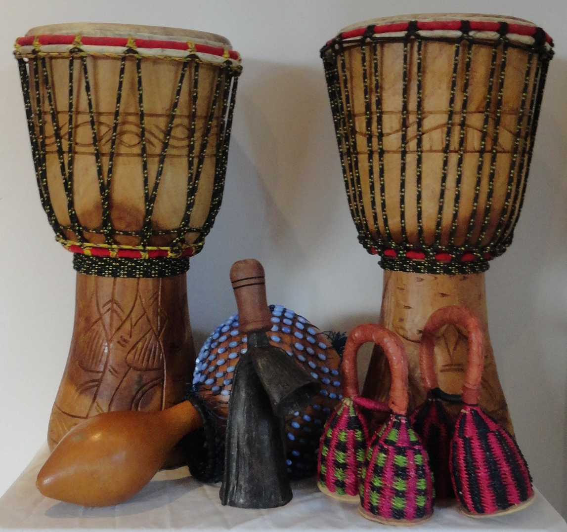 Ghana Duo Drum Package
