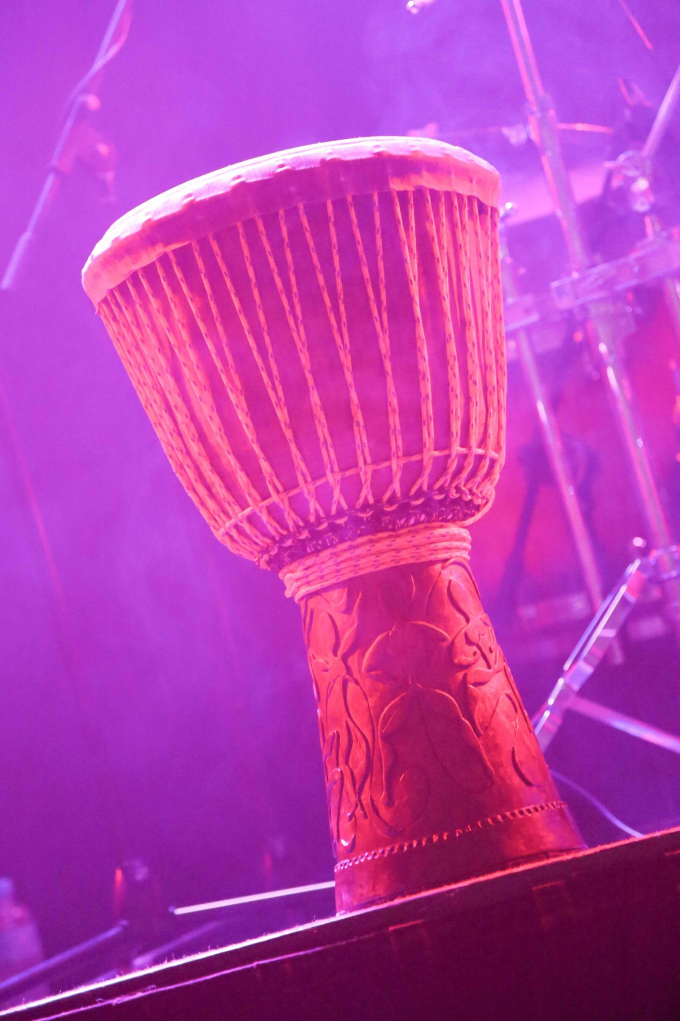 Djembe for African drumming performance