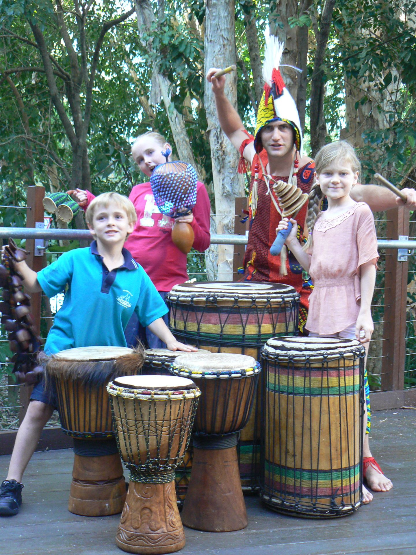 African Drumming with kids Sunshine Coast