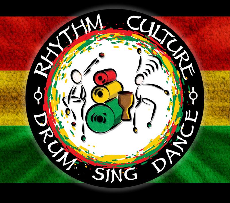 Rhythm Culture Logo African drumming