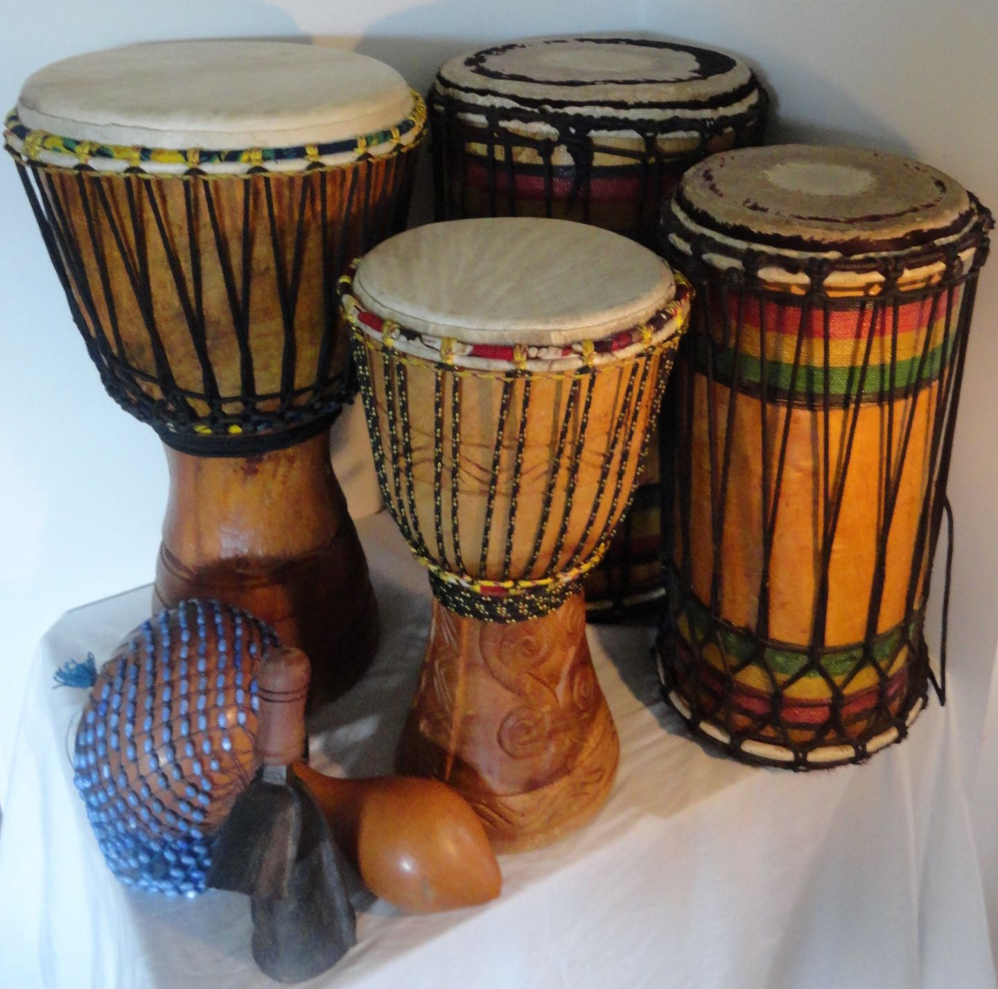 African Drum Package for sale top quality instruments