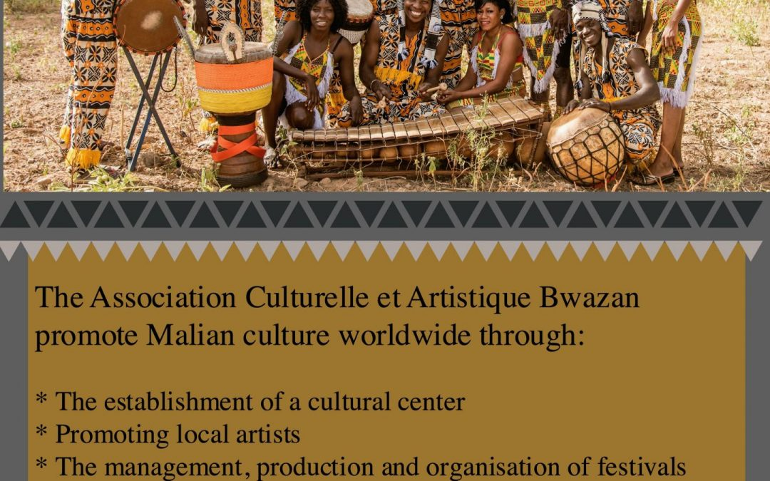 Partnership with Bwazan Association for Music and Culture in Mali.