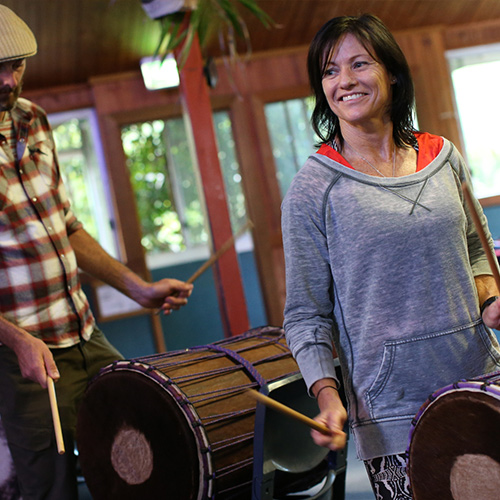 Classes in Drum and Dance on the Sunshine Coast