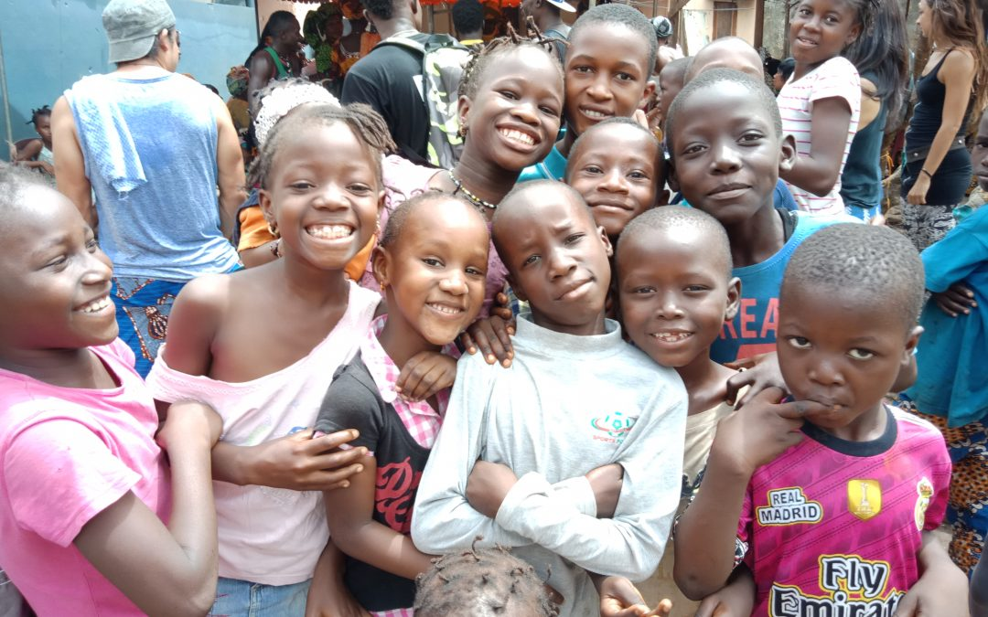 Bec's Trip to Guinea, West Africa Part 1