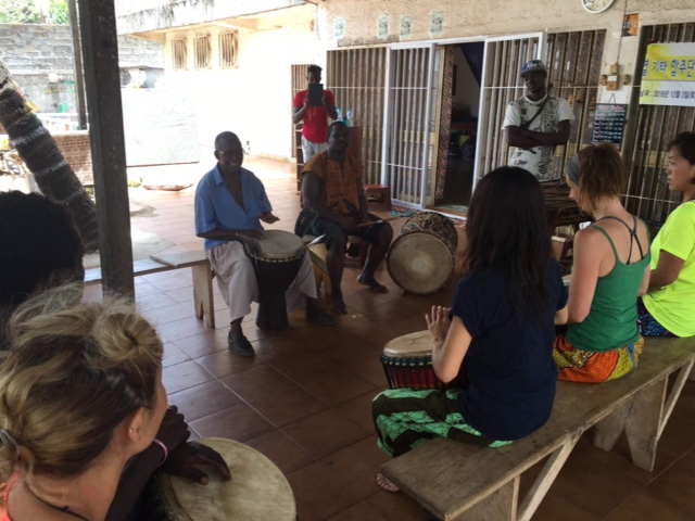 Bec's drum and dance trip to Guinea, West Africa.