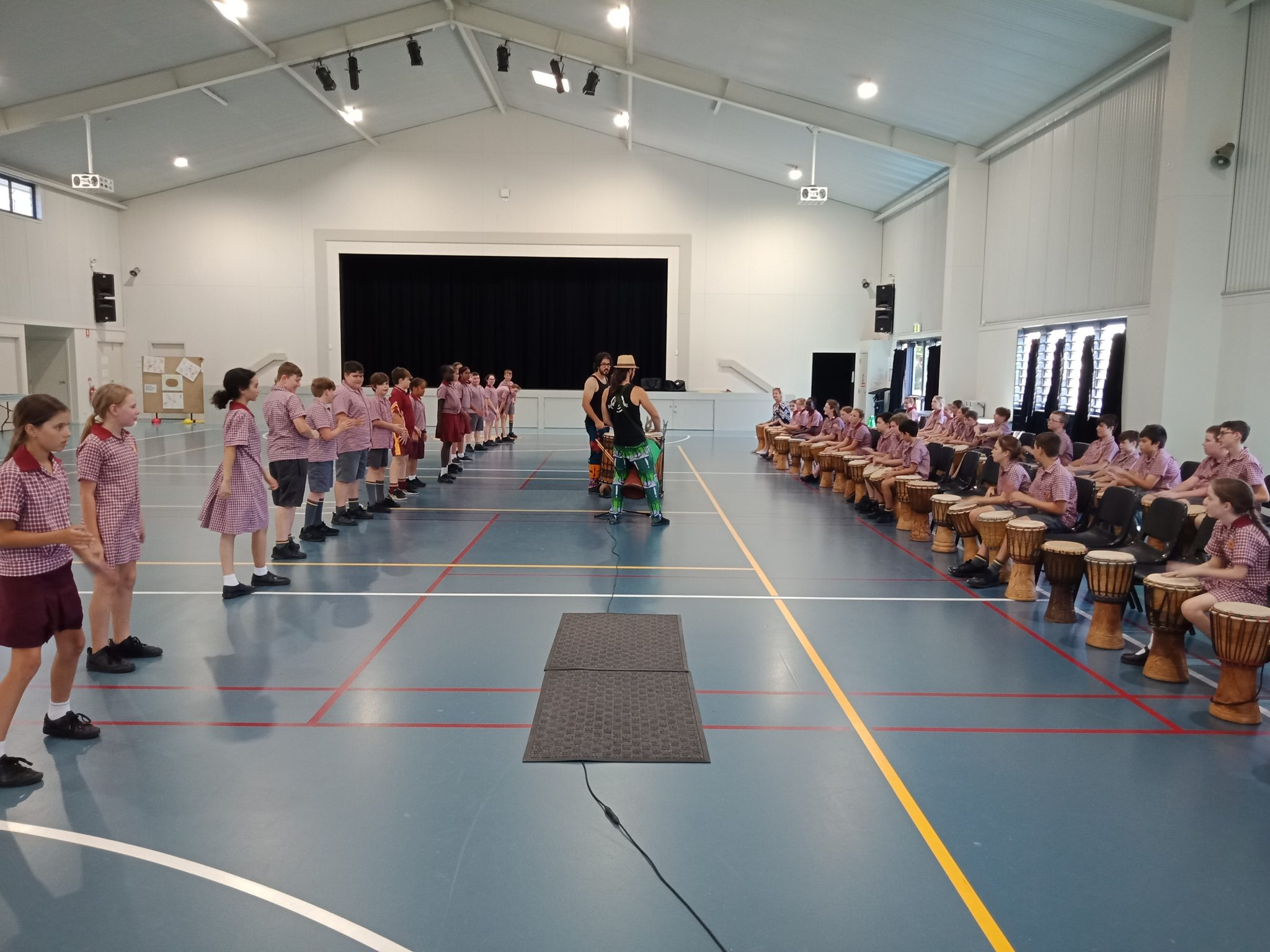 school drumming incursions
